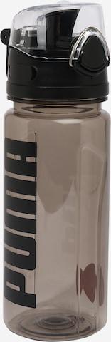 PUMA Trinkflasche in Schwarz
