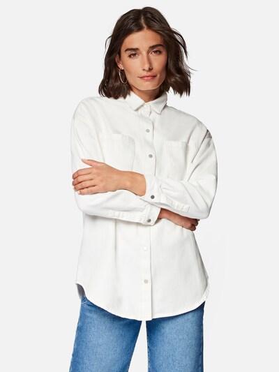 Mavi Bluse  ' Briana ' in weiß, Modelansicht