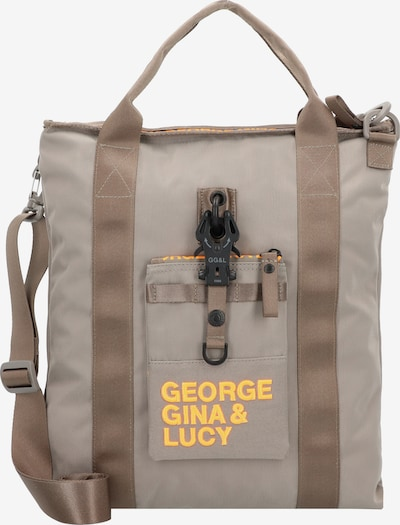 George Gina & Lucy Handtasche in taupe / hellgrau / orange, Produktansicht