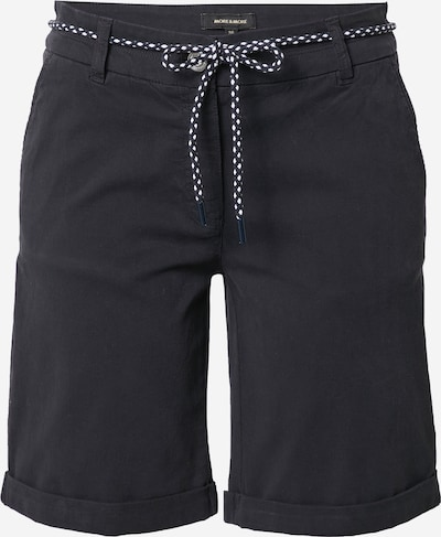 Pantaloni MORE & MORE pe albastru marin, Vizualizare produs