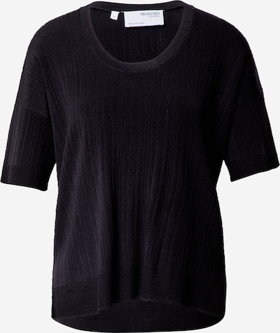 SELECTED FEMME Pullover 'WILMA' in schwarz, Produktansicht
