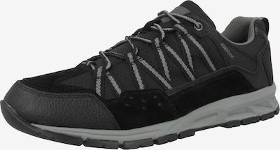 GEOX Schnürschuh 'U Delray B' in grau / schwarz, Produktansicht