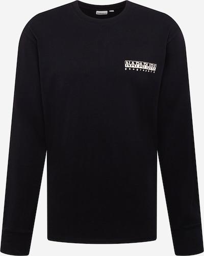 NAPAPIJRI Μπλουζάκι 'LATEMAR' σε μπεζ / μαύρο / λευκό, Άποψη προϊόντος