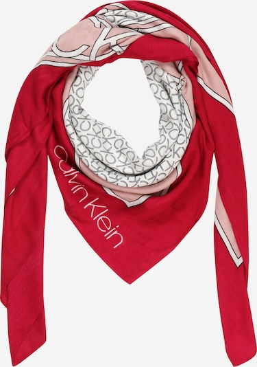 Calvin Klein Tuch in pitaya / altrosa / schwarz / weiß, Produktansicht