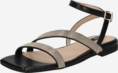 Sandale cu baretă '47 CHAIN STREET' STEFFEN SCHRAUT pe auriu / negru, Vizualizare produs