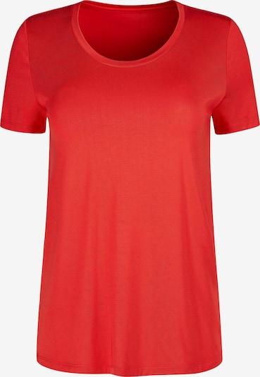 HUBER Schlafshirt '24 Hours' in rot, Produktansicht