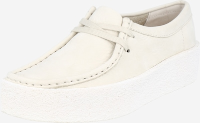 Clarks Originals Lace-up shoe 'Wallabee Cup' in nature white, Item view