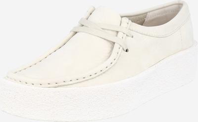 Clarks Originals Zapatos con cordón 'Wallabee Cup' en blanco natural, Vista del producto