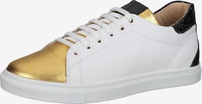 Gordon & Bros Sneaker in gold / schwarz / weiß, Produktansicht