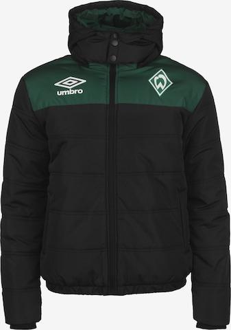 Veste de sport 'SV Werder Bremen' UMBRO en noir