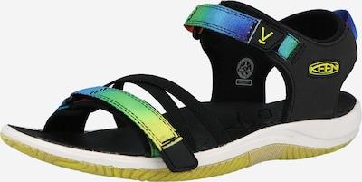 KEEN Sandale 'VERANO' in blau / gelb / grün / schwarz, Produktansicht