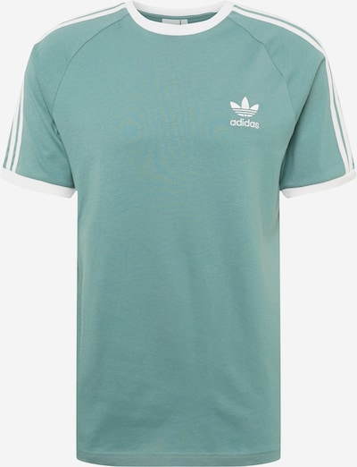 ADIDAS ORIGINALS Shirt in de kleur Groen / Wit, Productweergave