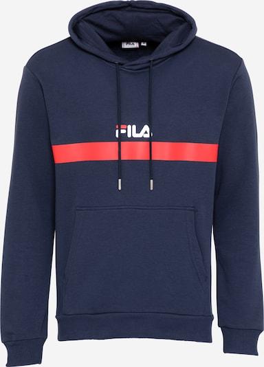 FILA Sweatshirt 'SAVION' in de kleur Blauw / Rood / Wit, Productweergave