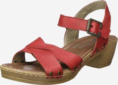 REMONTE Sandalen in dunkelorange, Produktansicht