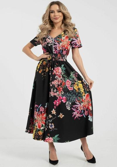 Wisell Sommerkleid mit Blumenprint in mischfarben, Modelansicht