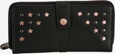 CHIEMSEE Portemonnaie in goldgelb / schwarz, Produktansicht
