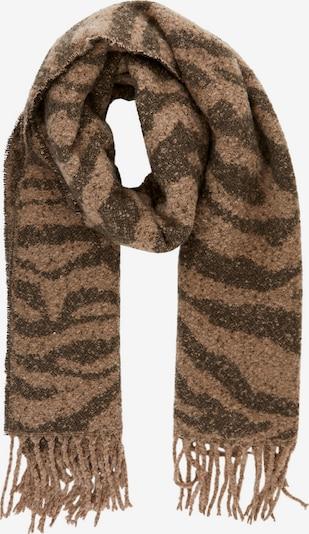 PIECES Schal 'Pyron' in Brown / Dark brown, Item view
