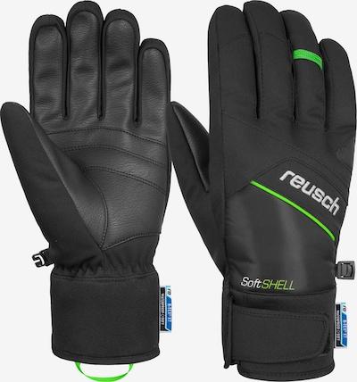 REUSCH Fingerhandschuh 'Luke R-TEX® XT' in grün / schwarz, Produktansicht