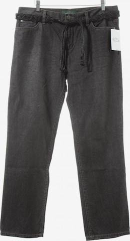 Lauren Jeans Co. Straight-Leg Jeans in 30-31 in Grau