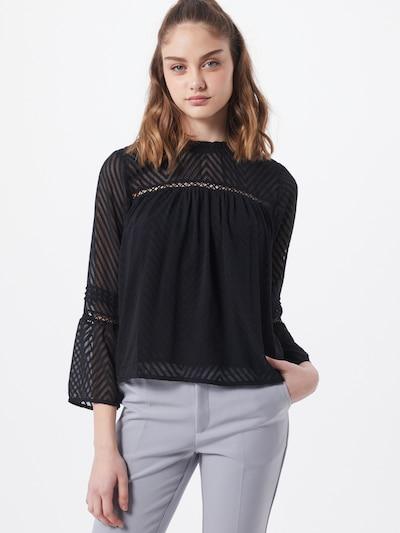 ONLY Bluse 'ANNELENA' i sort, Modelvisning