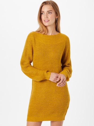 JDY Kleid 'WHITNEY MEGAN' in goldgelb, Modelansicht