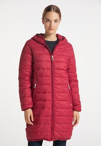 DreiMaster Maritim Between-Seasons Coat in Red