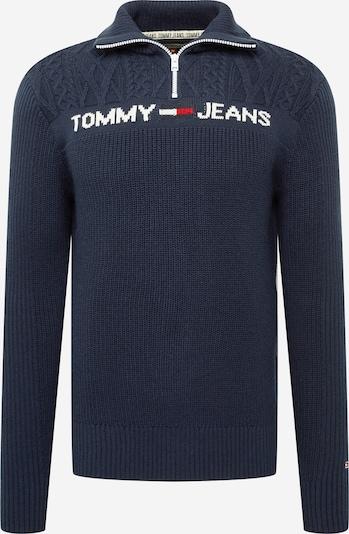 Tommy Jeans Tröja i blå / röd / vit, Produktvy