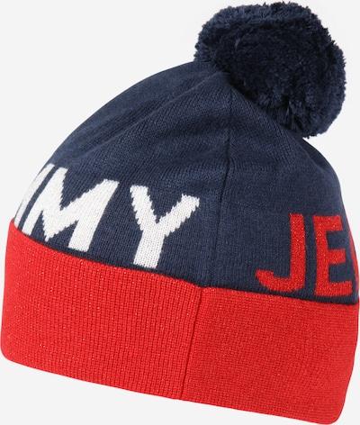 Tommy Jeans Mütze in dunkelblau / rot / weiß, Produktansicht