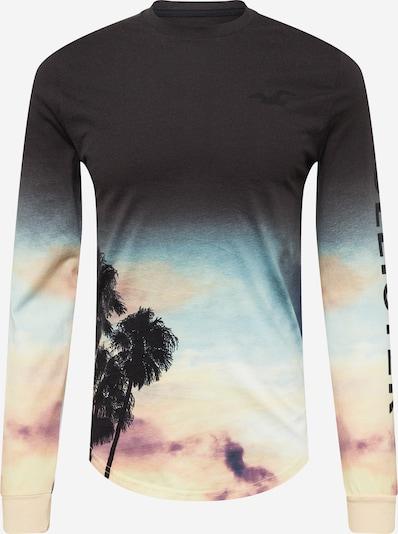 HOLLISTER T-Shirt en beige / aqua / violet foncé / noir, Vue avec produit