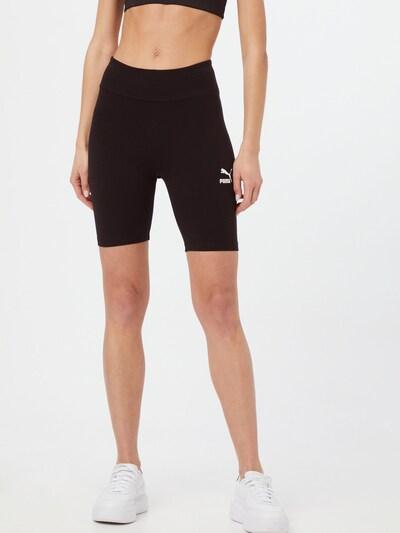 PUMA Shorts in schwarz / weiß, Modelansicht