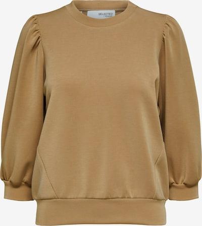 SELECTED FEMME Sweatshirt 'Tenny' in Light brown, Item view