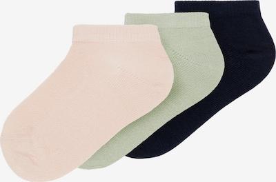 NAME IT Sokken 'Vilma' in de kleur Nachtblauw / Pastelgroen / Pastelroze, Productweergave
