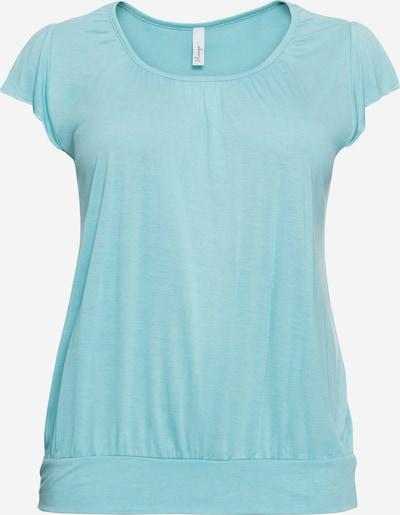 SHEEGO T-Shirt in türkis, Produktansicht