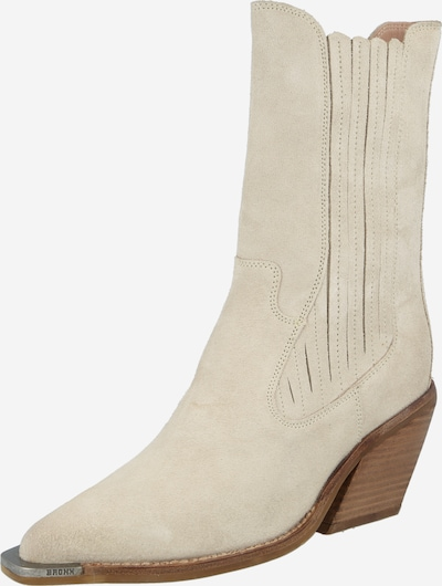 BRONX Ankle boots 'Low-Kole' in Beige, Item view