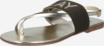 REPLAY Sandale in Grün