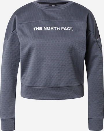 THE NORTH FACE Athletic Sweatshirt in Grey