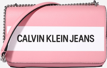 Geantă de umăr de la Calvin Klein Jeans pe roz