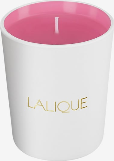 LALIQUE Kerze 'Pink Paradise' in gold / rosé / weiß, Produktansicht