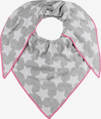 Zwillingsherz Masque en tissu en beige / gris basalte / rose, Vue avec produit