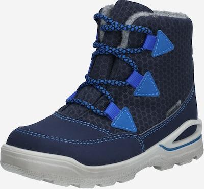 Pepino Snowboots 'Emil' in navy / nachtblau / hellblau / grau, Produktansicht