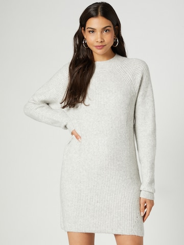 Guido Maria Kretschmer Collection Knitted dress 'Mara' in Grey
