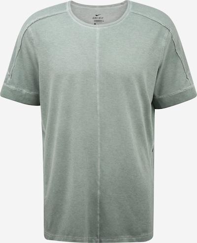 NIKE Funktionsshirt in khaki / schwarz, Produktansicht