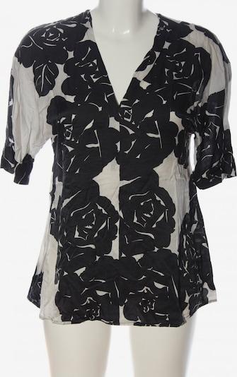 Marc O'Polo Kurzarm-Bluse in S in schwarz / wollweiß, Produktansicht