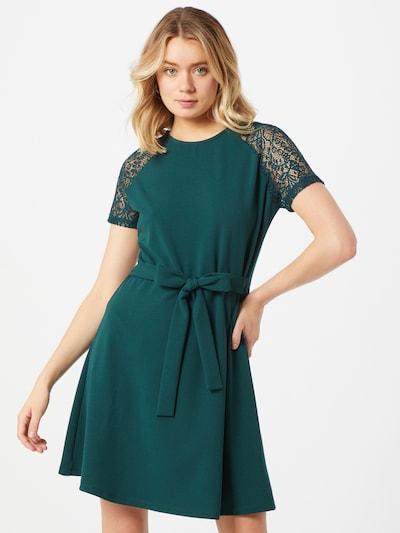 VERO MODA Robe 'Jasmine' en vert foncé, Vue avec modèle