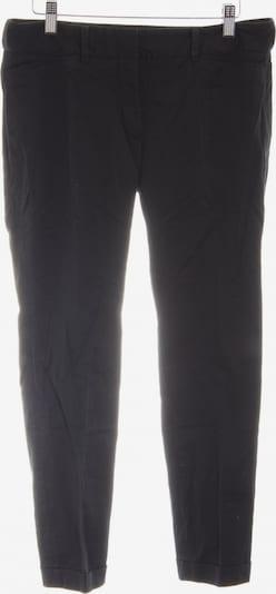 ZARA Bundfaltenhose in M in schwarz, Produktansicht
