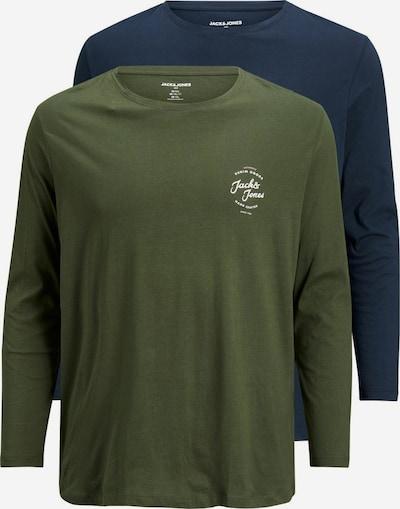 JACK & JONES Shirt in de kleur Blauw / Groen, Productweergave