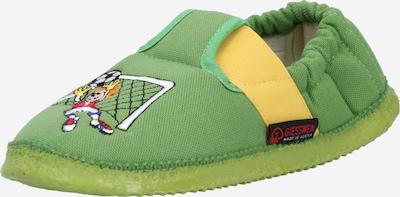 GIESSWEIN Mājas apavi 'Arnstadt' dzeltens / zaļš / jauktu krāsu / balts, Preces skats
