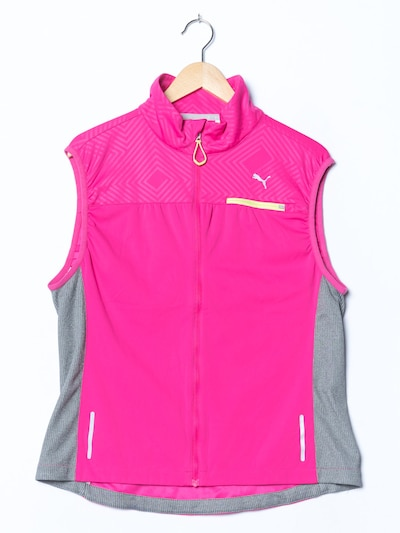 PUMA Weste in L-XL in rosa, Produktansicht