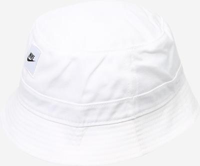 Pălărie 'NAN' Nike Sportswear pe negru / alb, Vizualizare produs
