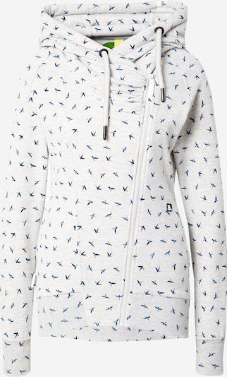 Giacca di felpa 'Snakecharmer' Alife and Kickin di colore blu / navy / grigio chiaro, Visualizzazione prodotti